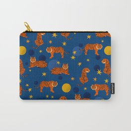 Cosmic Tigers Carry-All Pouch