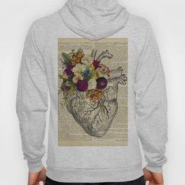 human flower heart  Hoody
