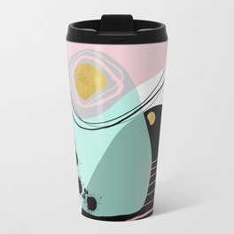 Modern minimal forms 9 Travel Mug