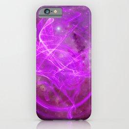 Essence Violet iPhone Case