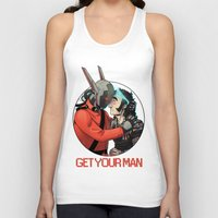 yaoi Tank Tops featuring Comic Cover by kami dog