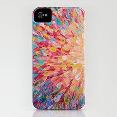 SPLASH - WOW Dash of Cheerful Color, Bold Water Waves Theme, Nature Lovers Modern Abstract Decor Slim Case iPhone (4, 4s)