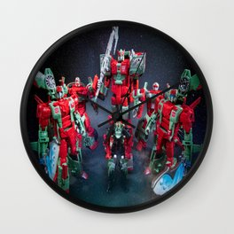"""The Rust Renegades"" Wall Clock"