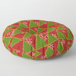 Merry Christmas to You Floor Pillow