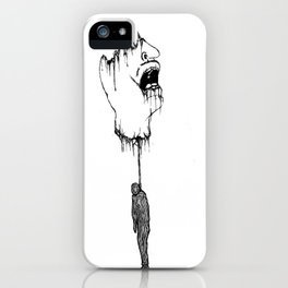 Hanged  up  iPhone Case