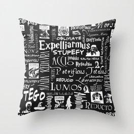 HP Spell Cloud Throw Pillow