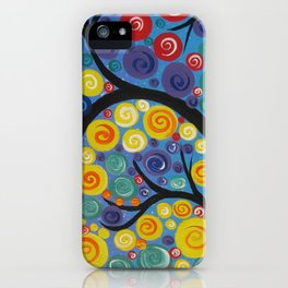Medieval Tree of Life iPhone Case