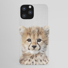Baby Cheetah - Colorful iPhone Case