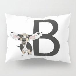 B is for Basset Hound Pillow Sham