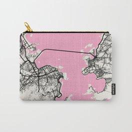 Rio De Janeiro - Brazil Neapolitan City Map Carry-All Pouch