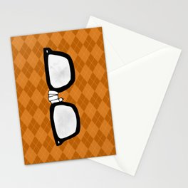 Momma always dressed me in argyle Stationery Cards
