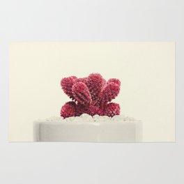 Cute Red Cactus Rug