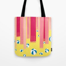 I can bowl a ball, many times in a row. Tote Bag