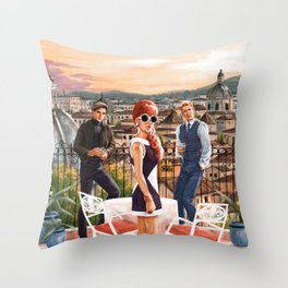 From UNCLE Throw Pillow