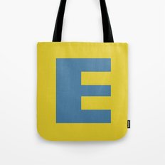 E is for Emeline :-) Tote Bag