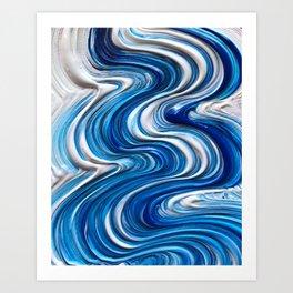 Brush Stroke Art Print