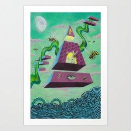 Laguz Art Print
