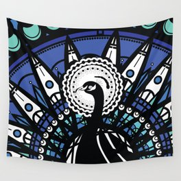 Immortal Pavo Wall Tapestry