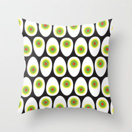 Egg & Olive Throw Pillow