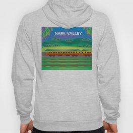 Napa Valley, California - Skyline Illustration by Loose Petals Hoody