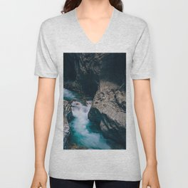 Run With Me Unisex V-Neck