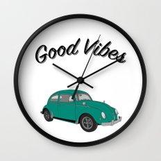 Good Vibes Wall Clock
