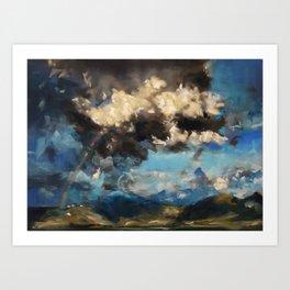 After a Storm Art Print