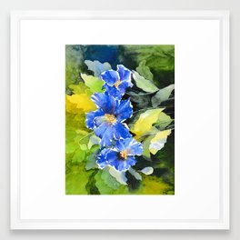 Blue Mountain Framed Art Print