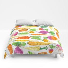 Root Veggies Comforters