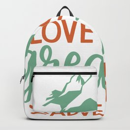 Love Is The Greatest Adventure Backpack