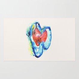Brain Hearts Rug