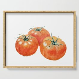 Three Tomatoes Serving Tray