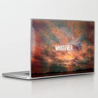 meme Laptop & iPad Skins featuring Inspirational Photo Quote Meme by Lewis Wake