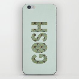 COLLAGE LOVE: GOSH  iPhone Skin