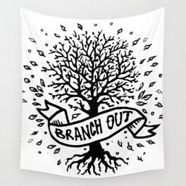 Branch Out Wall Tapestry