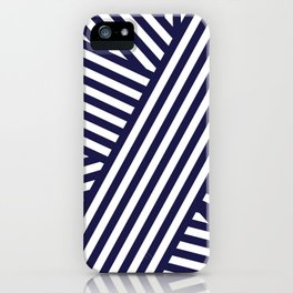 Nautical Bandaids iPhone Case