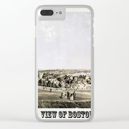 Boston 1854 Clear iPhone Case