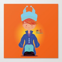 Le petit Mikel /Character & Art Toy design for fun Canvas Print