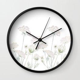 bishop's lace Wall Clock