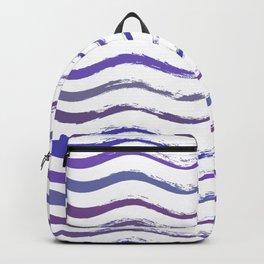 Ultraviolet waving Backpack