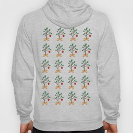 It's (not) such a lonely Christmas CB - Christmas Tree pattern Hoody