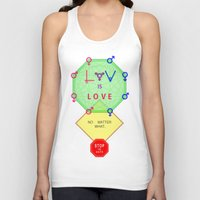 equality Tank Tops featuring Gender Equality by Intercessor