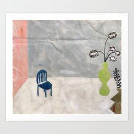 Waiting Room Art Print