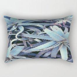 Succulents At Sunset Rectangular Pillow