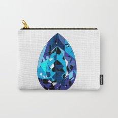 GEMS - blue , shine , single piece Carry-All Pouch