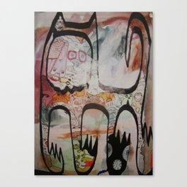 big spanish cat Canvas Print