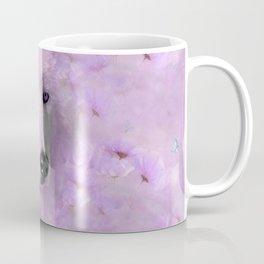 PURPLE WOLF FLOWER SPARKLE Coffee Mug