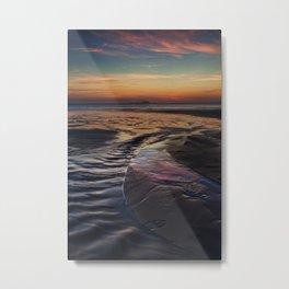 Whitesands Sunset Metal Print