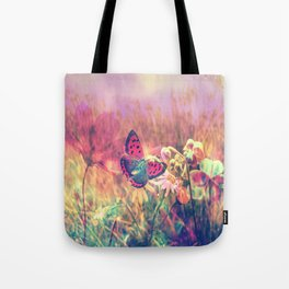 Butterfly in a Wonderworld Tote Bag