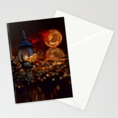 Like A Moth To A Flame Stationery Cards
